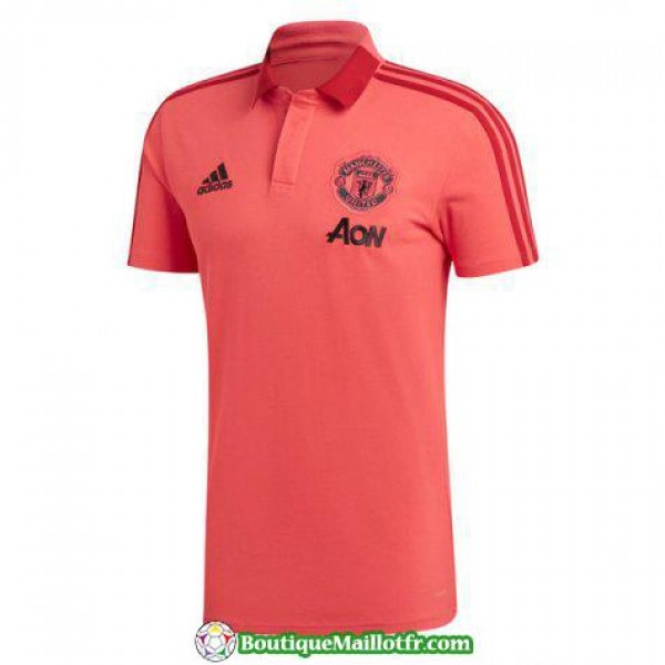 Polo Manchester United 2018 2019 Rose