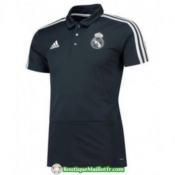 Polo Real Madrid 2018 2019 Noir