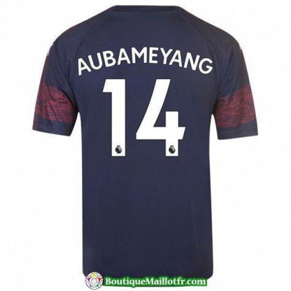 Maillot Arsenal Aubameyang 2018 2019 Exterieur