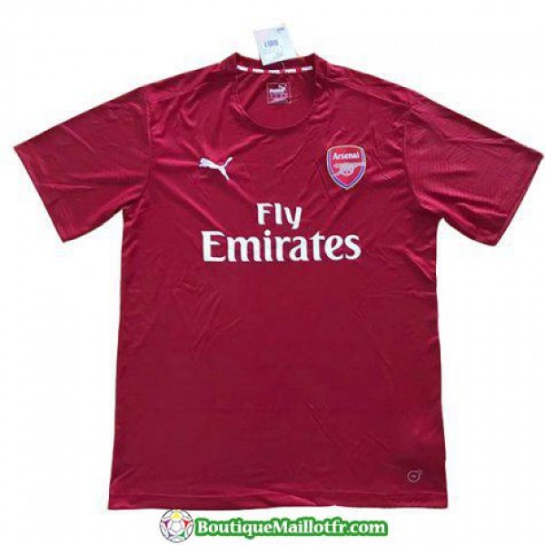 Maillot Arsenal Entrainement 2018 2019 Rouge