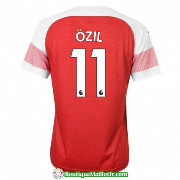 Maillot Arsenal Ozil 2018 2019 Domicile