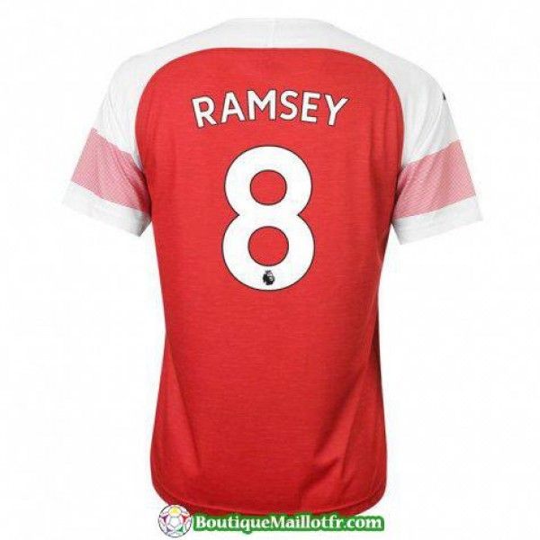 Maillot Arsenal Ramsey 2018 2019 Domicile