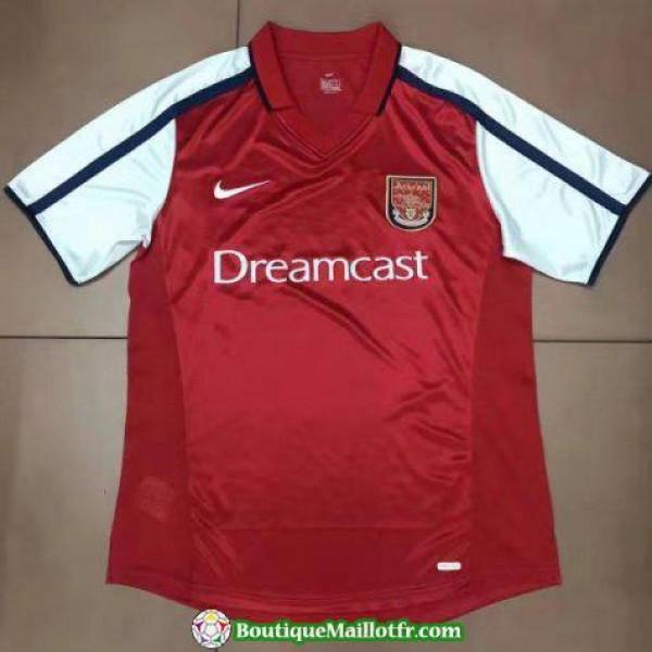 Maillot Arsenal Retro 2000 Domicile