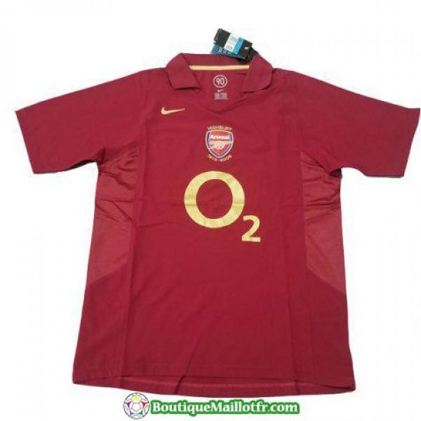 Maillot Arsenal Retro 2005-2006 Domicile