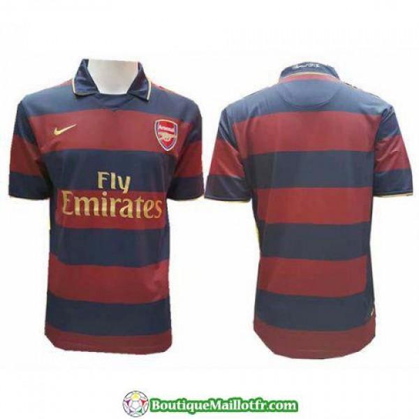 Maillot Arsenal Retro 2007-2008 Exterieur