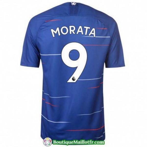 Maillot Chelsea Morata 2018 2019 Domicile