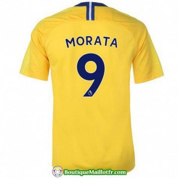 Maillot Chelsea Morata 2018 2019 Exterieur