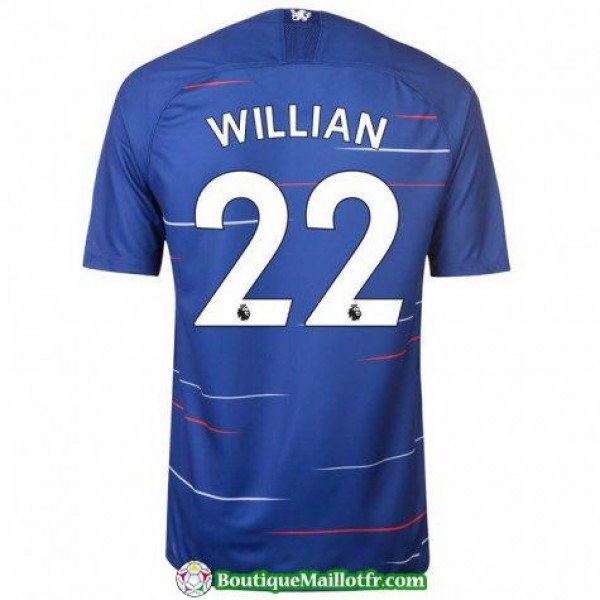 Maillot Chelsea Willian 2018 2019 Domicile