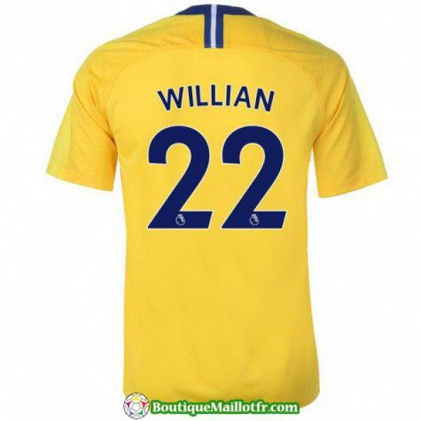 Maillot Chelsea Willian 2018 2019 Exterieur