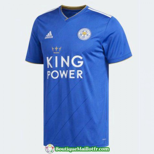 Maillot Leicester City 2018 2019 Domicile