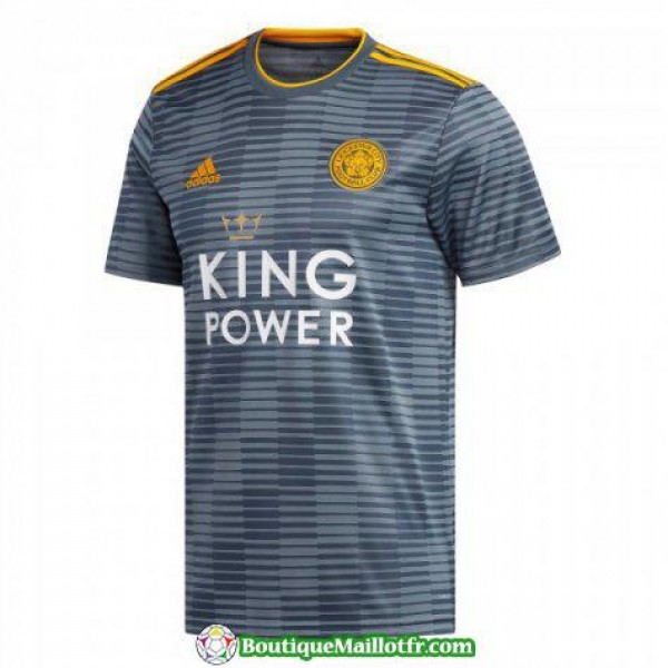 Maillot Leicester City 2018 2019 Exterieur