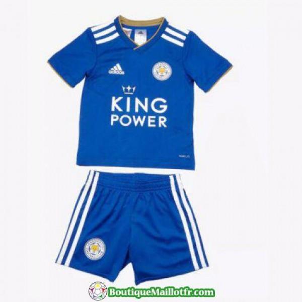 Maillot Leicester City Enfant 2018 2019 Domicile