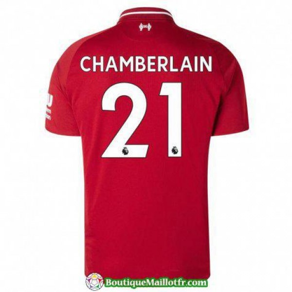 Maillot Liverpool Chamberlain 2018 2019 Domicile