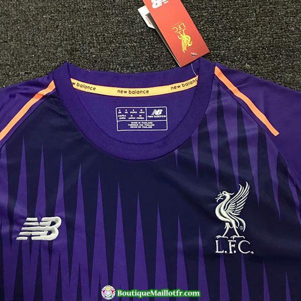Maillot Liverpool Entrainement 2018 2019 Violet
