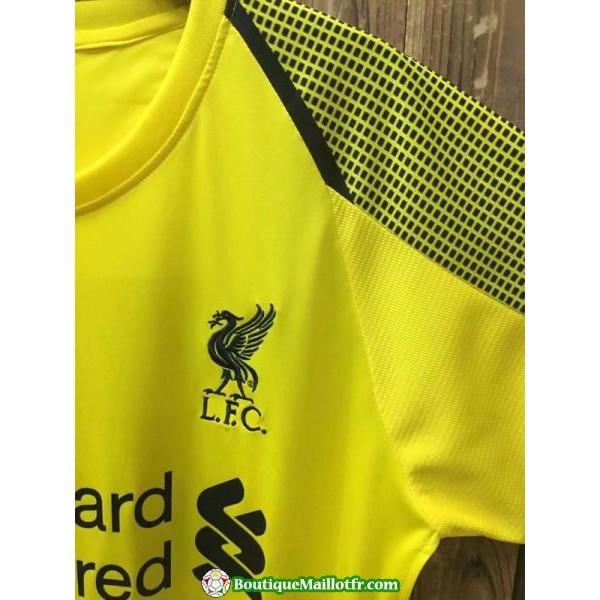 Maillot Liverpool Gardien 2018 2019 Jaune