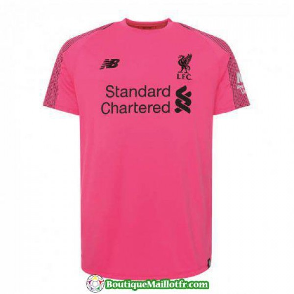 Maillot Liverpool Gardien 2018 2019 Rose