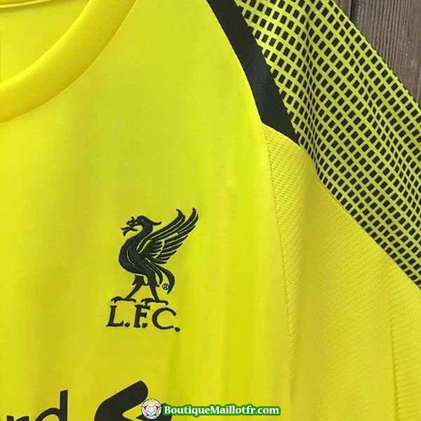 Maillot Liverpool Manche Longue Gardien 2018 2019 Jaune