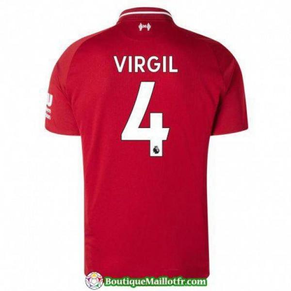 Maillot Liverpool Virgil 2018 2019 Domicile
