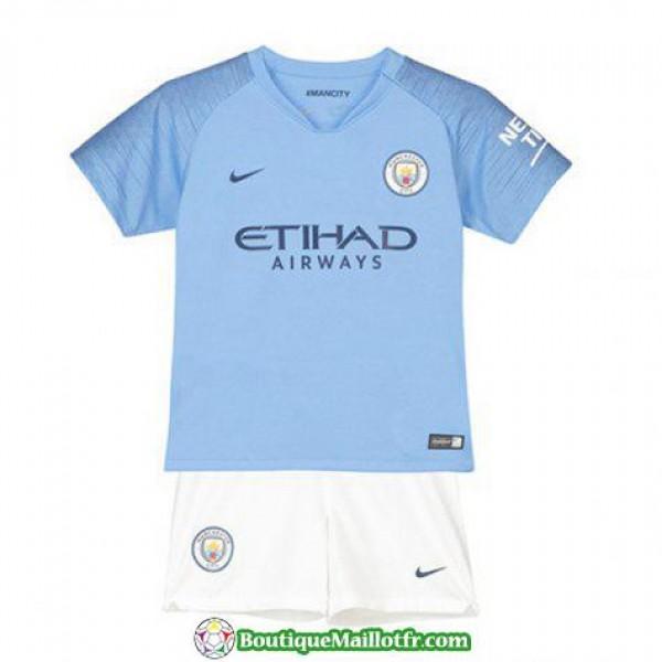 Maillot Manchester City Enfant 2018 2019 Domicile