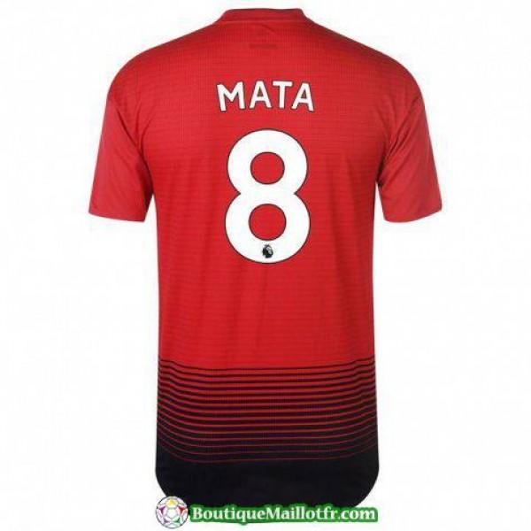 Maillot Manchester United Mata 2018 2019 Domicile