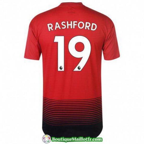 Maillot Manchester United Rashuford 2018 2019 Domi...