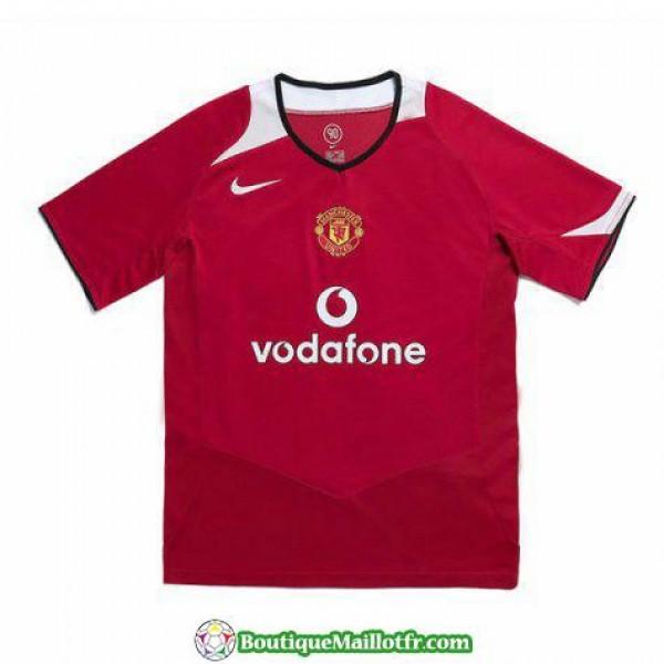Maillot Manchester United Retro 2005-2006 Domicile