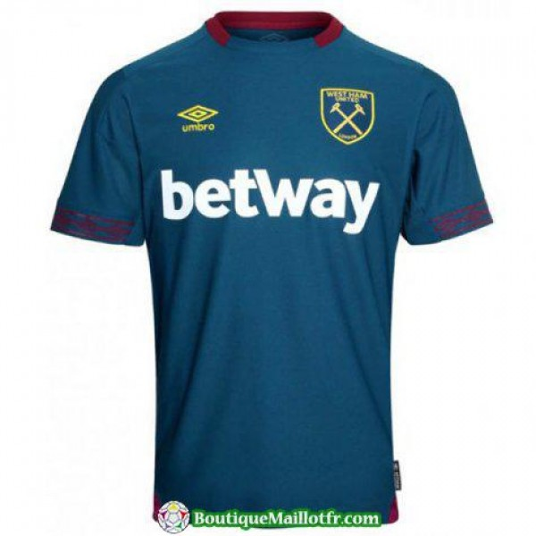 Maillot West Ham United 2018 2019 Exterieur