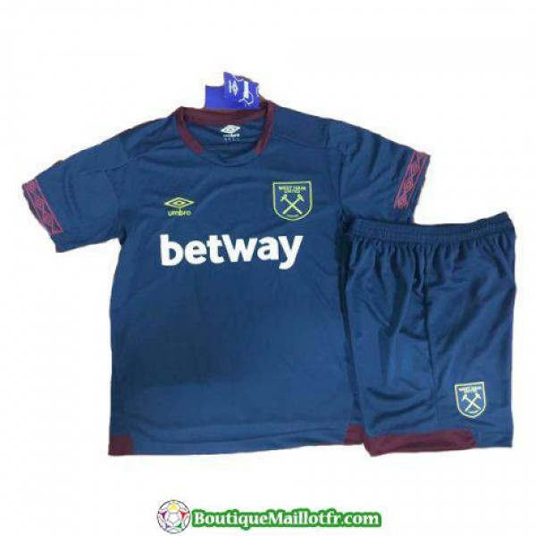Maillot West Ham United Enfant 2018 2019 Exterieur