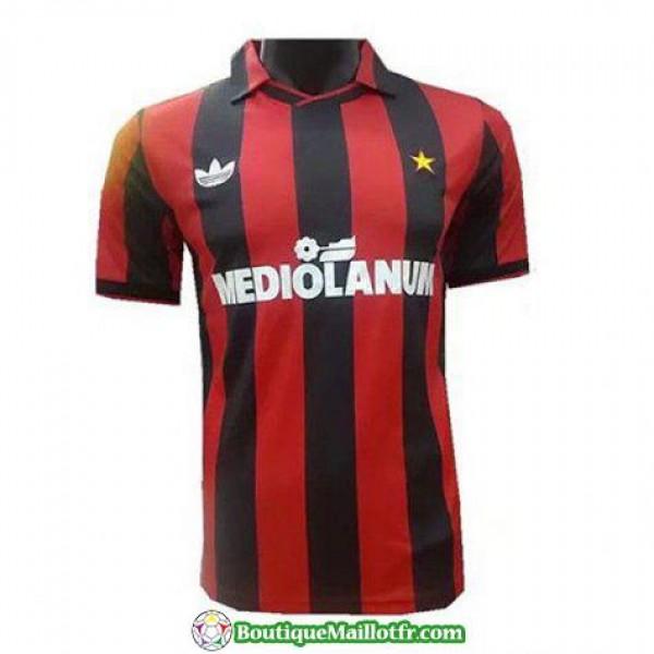 Maillot Ac Milan Retro 1991-1992 Domicile