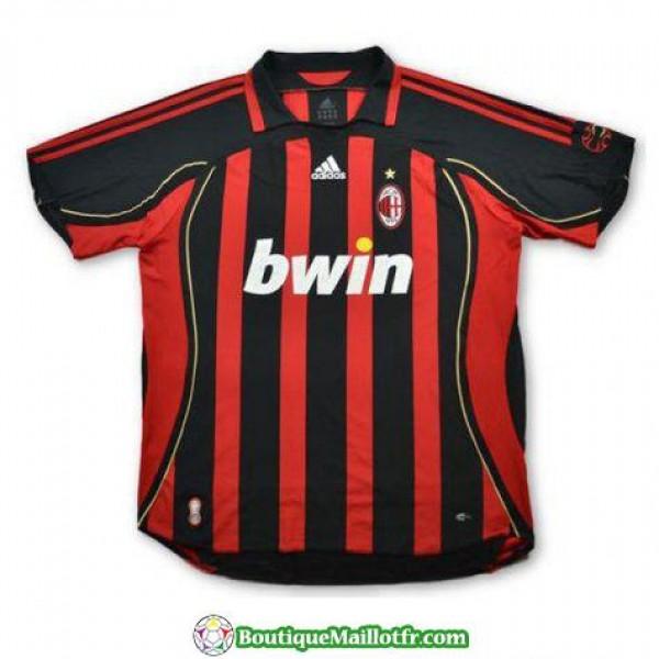 Maillot Ac Milan Retro 2006-2007 Domicile