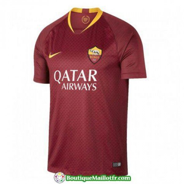 Maillot As Roma 2018 2019 Domicile