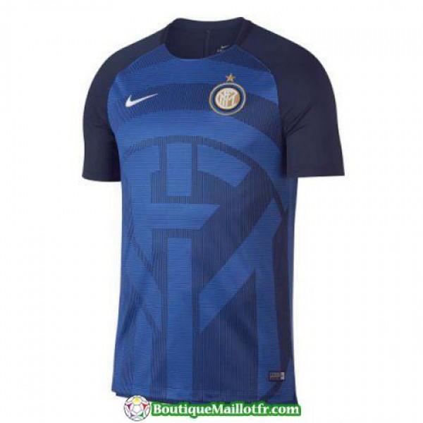 Maillot Inter Milan Entrainement 2018 2019 Bleu