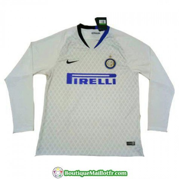 Maillot Inter Milan Manche Longue 2018 2019 Exteri...