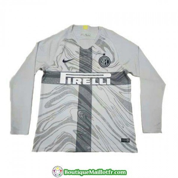 Maillot Inter Milan Manche Longue 2018 2019 Neutre