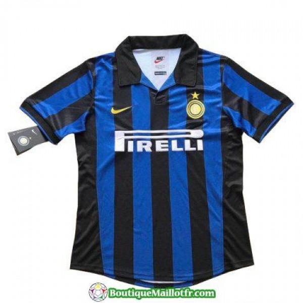 Maillot Inter Milan Retro 1998 Domicile
