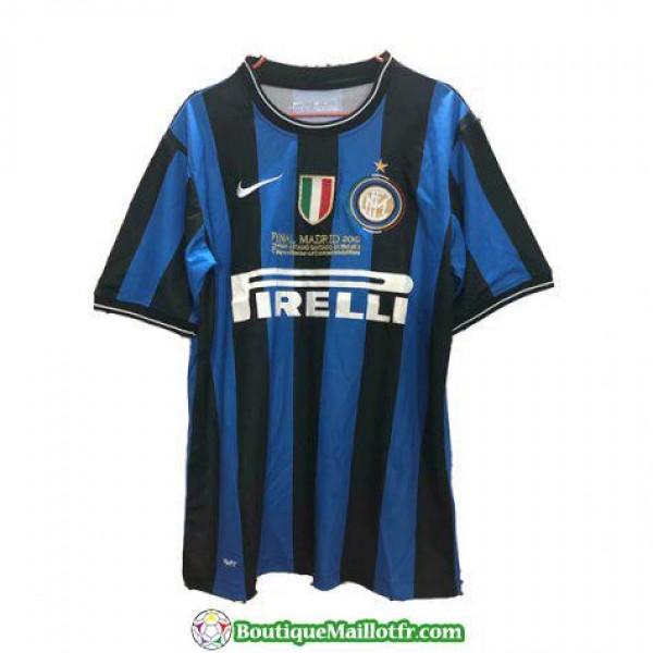 Maillot Inter Milan Retro 2009-2010 Domicile