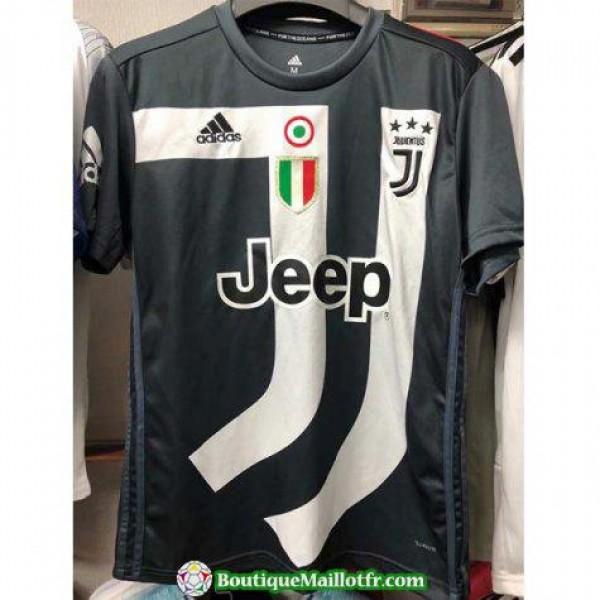 Maillot Juventus Commemoratif 2018 2019 Noir Blanc