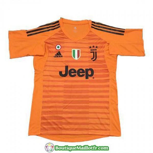 Maillot Juventus Gardien 2018 2019 Orange