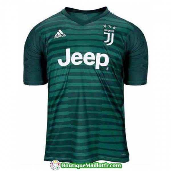 Maillot Juventus Gardien 2018 2019 Vert
