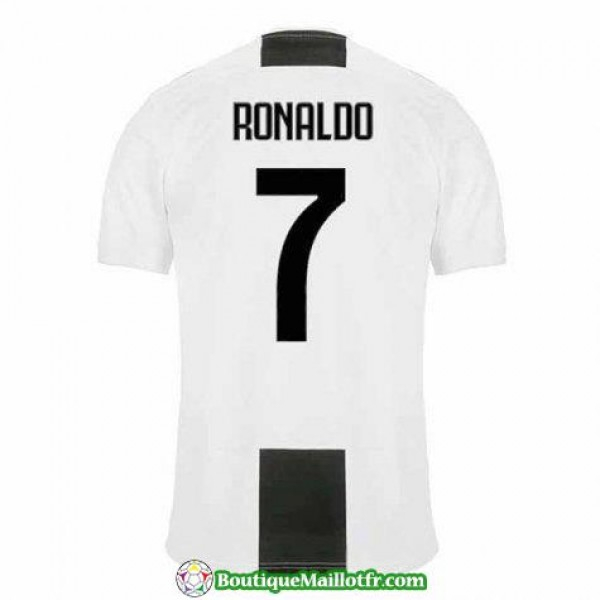 Maillot Juventus Ronaldo 2018 2019 Domicile