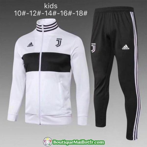 Veste Juventus Enfant 2018 Ensemble Complet Blanc
