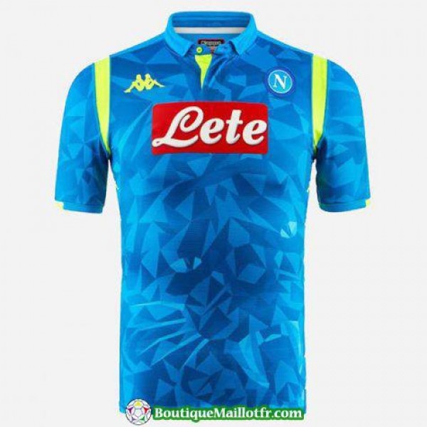 Maillot Naples 2018 2019 Champions League Bleu