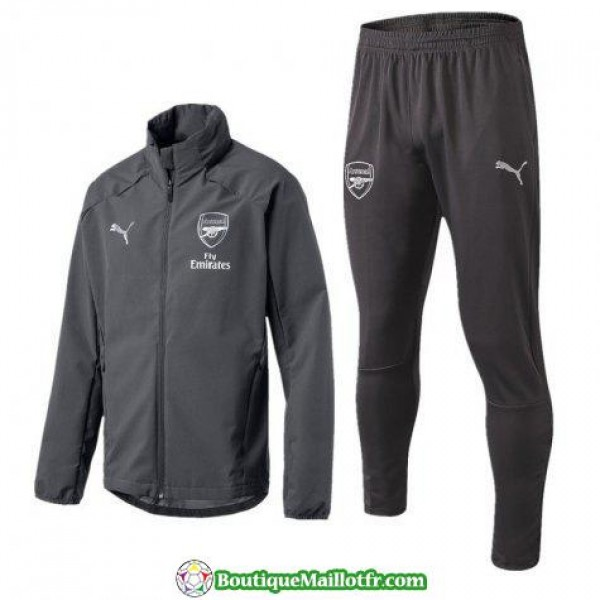 Coupe Vent Arsenal 2018 2019 Gris