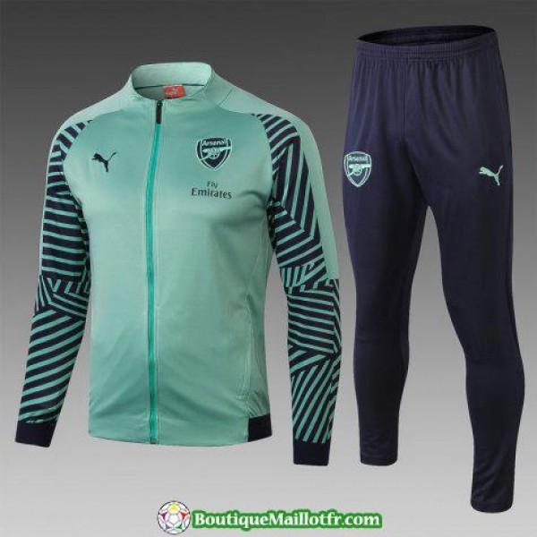 Veste Arsenal 2018 2019 Ensemble Complet Vert