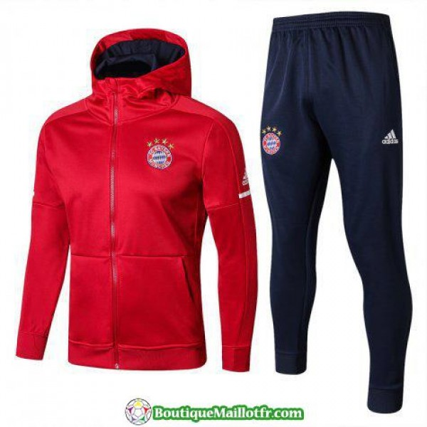 Sweat A Capuche Bayern Munich 2017 2018 Ensemble C...