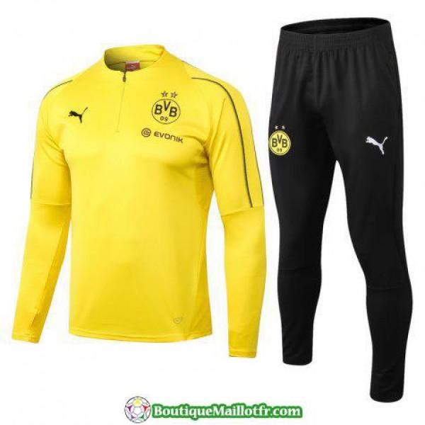 Survetement Dortmund 2018 2019 Fermeture Eclair Ja...