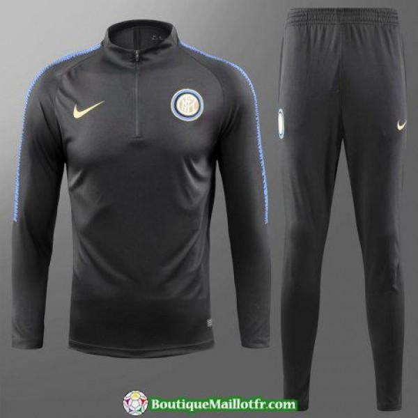 Survetement Inter Milan 2018 2019 Fermeture Eclair...