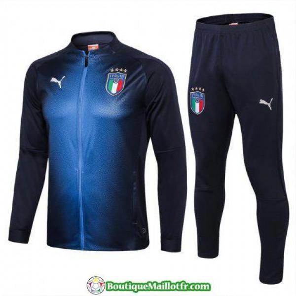 Veste Italie 2018 Ensemble Complet Bleu