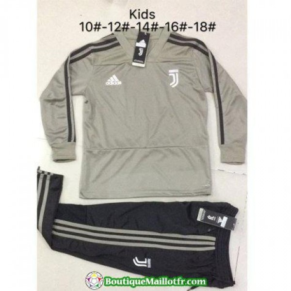 Survetement Juventus Enfant 2018 2019 V Col Jaune