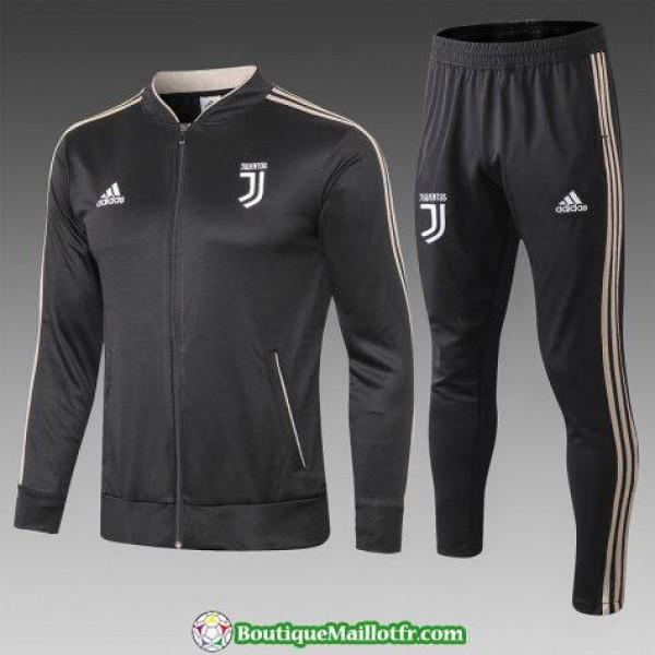 Veste Juventus 2018 2019 Ensemble Complet Noir